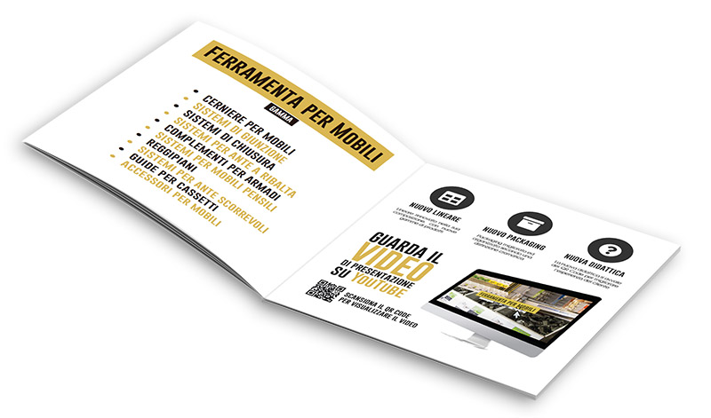 Brochure ferramenta per mobili